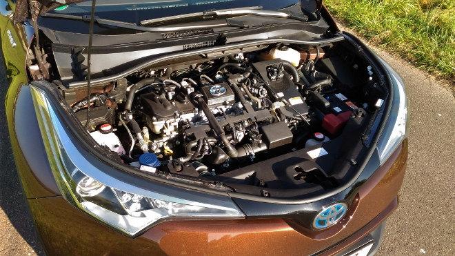 Toyota C-HR Hybrid Motor