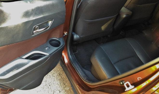 Toyota C-HR Hybrid Sitze hinten