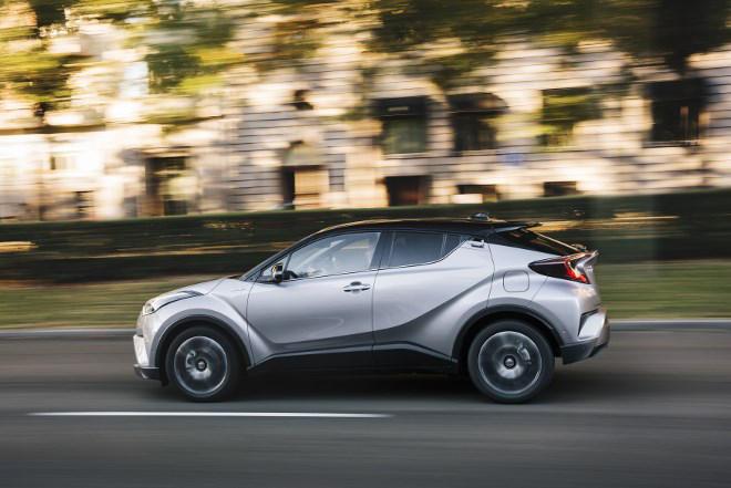 Toyota CHR Hybrid Test
