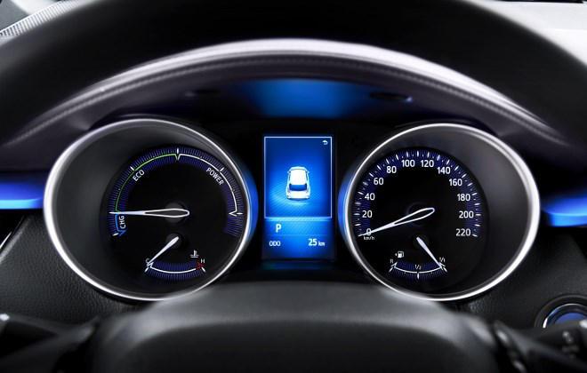 Toyota C-HR Instrumente