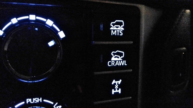 Toyota Land Cruiser Diesel Crawl und Allrad