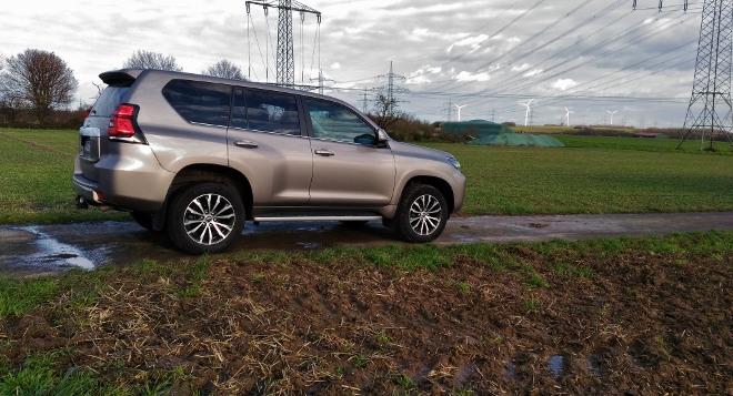 Toyota Land Cruiser Diesel Test