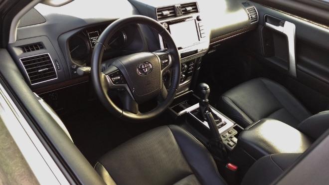Toyota Land Cruiser Diesel Armaturenbrett