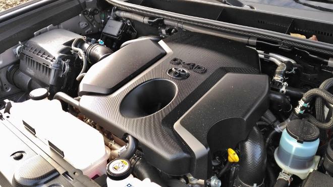 Toyota Land Cruiser Diesel, Motor