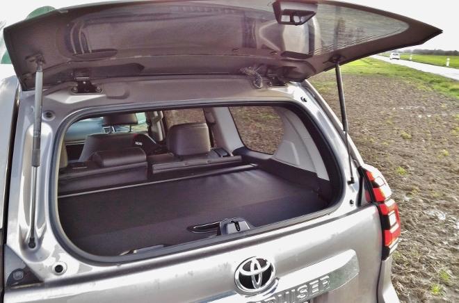 Toyota Land Cruiser Diesel klappbares Heckfenster