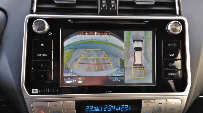 Toyota Land Cruiser Diesel Kamera und 360 Grad Kamera