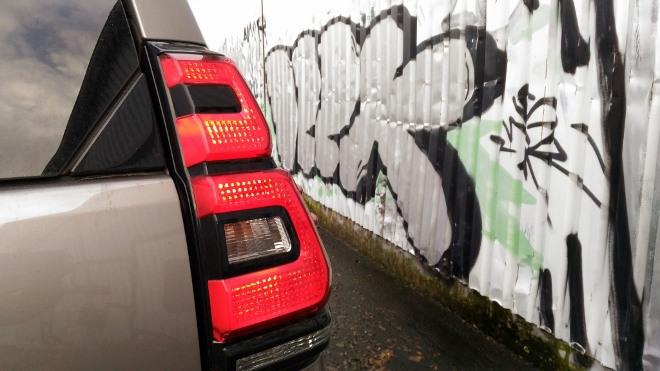 Toyota Land Cruiser Diesel Heckleuchte