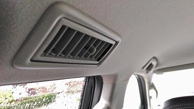 Toyota Land Cruiser Diesel Luftdüse hintere Sitzbank