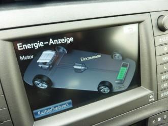 Toyota Prius Plug-in Hybrid Energieanzeige