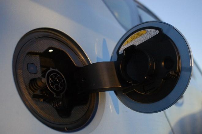 Toyota Prius Plug-in Hybrid Ladebuchse