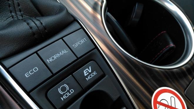 Toyota Camry Hybrid EV Mode