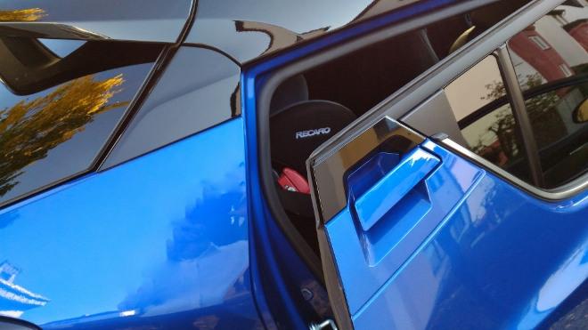 Einstieg hinten im Toyota C-HR Hybrid 2.0 184 PS Facelift