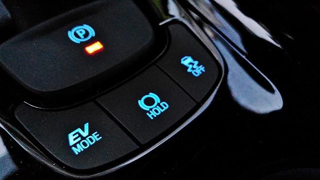 EV Mode im Toyota C-HR Hybrid 2.0 184 PS Facelift