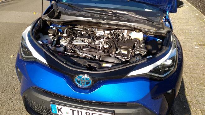 184 PS Hybrid Motor Toyota C-HR Facelift
