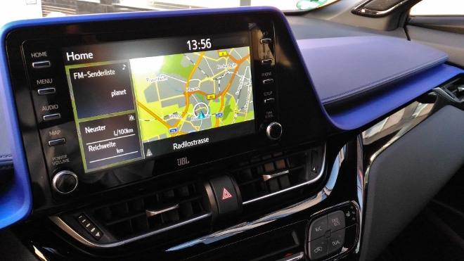 Navi Bildschirm Toyota C-HR 2.0 HybridFacelift