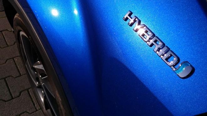 Schriftzug Toyota C-HR 2.0 Hybrid Facelift