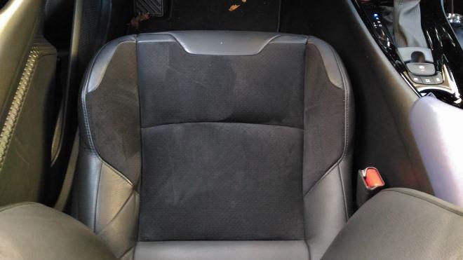 Stoff Leder Sitze Toyota C-HR Facelift