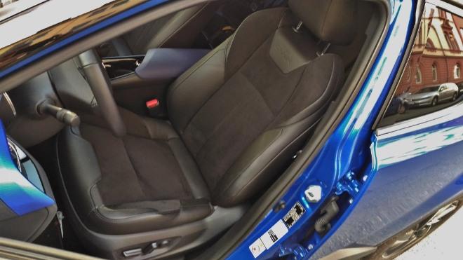 Vordersitz Toyota C-HR Facelift