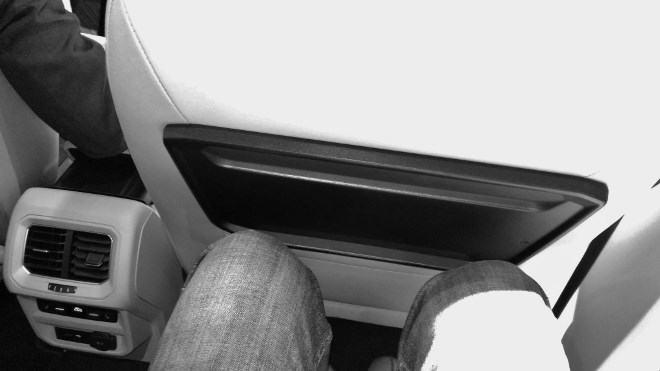 VW Tiguan Allspace: Die Beinfreiheit