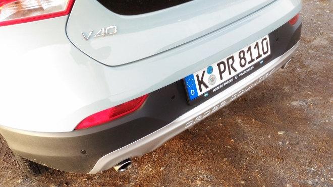 Volvo V40 Cross Country D4 Polestar Heck Unterfahrschutz