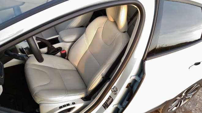 Volvo V40 Crosscountry Sitze hinten