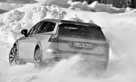 vVolvo V60 Cross Country im Drift