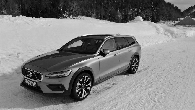 Volvo V60 Cross Country Seite