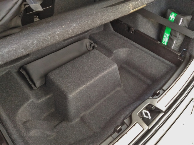 Volvo XC40 Recharge Kofferraum