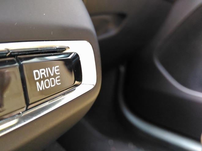 Volvo XC40 Recharge T5 Drive Mode Schalter