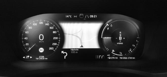 Volvo S60 Recharge T8 Digitaltacho