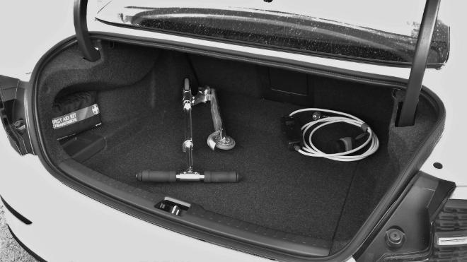Volvo S60 Recharge T8 Kofferraum