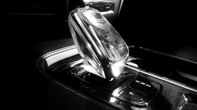 Volvo S60 Recharge T8 Automatik Wahlhebel Kristallglas