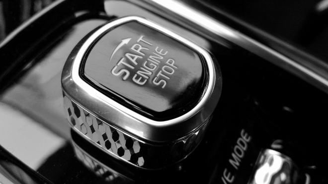 Volvo S60 Recharge T8 Startschalter