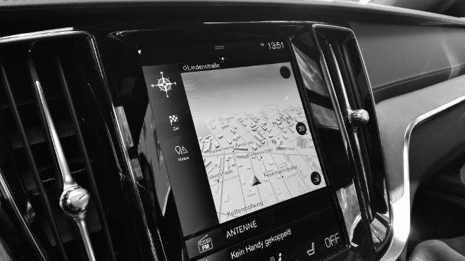 Volvo S60 Recharge T8 Bildschirm