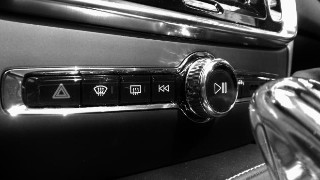 Volvo S60 Recharge T8 Radio Schalter
