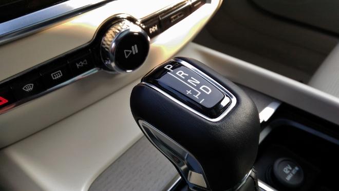 Volvo V60 D4 Automatikwahlhebel