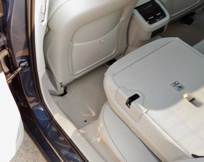 Volvo V60 Bank umgeklappt, Kofferraumerweiterung