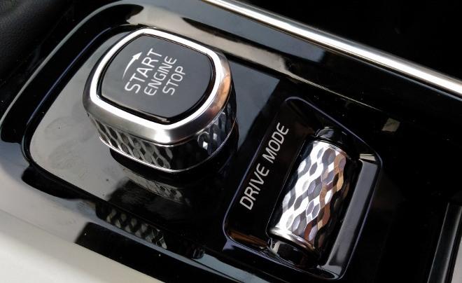Volvo V60 Drive Mode Schalter, Startschalter