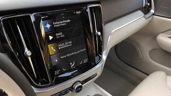Volvo V60 Kombi horizontaler Bildschirm, Touchscreen