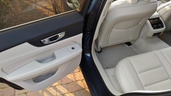 Volvo V60 Kombi Sitzbank hinten, Leder