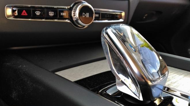 Volvo XC60 B5 Automatik Wahlhebel aus Kristallglas