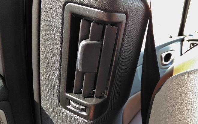 Volvo XC60 B5 Klimaanlage Luftausströmer hinten