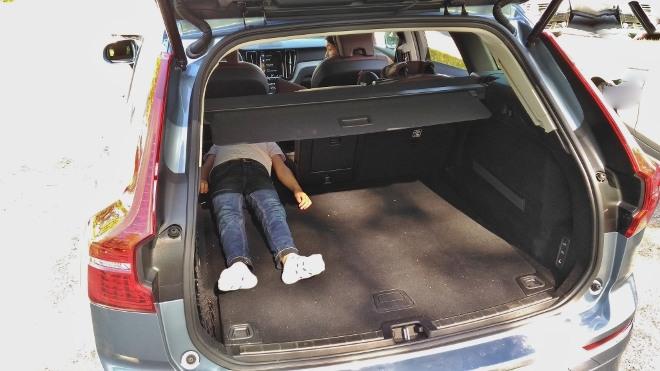 Volvo XC60 B5 Kofferraum mit viel Volumen