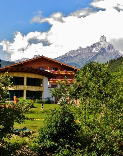 Walchhofer´s Alpenhof in Filzmoos, Bischofmütze, Berge