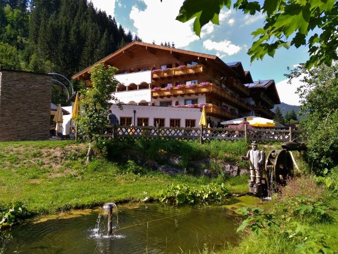 Walchhofer´s Alpenhof in Filzmoos, Ansicht