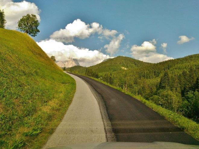 Walchhofer´s Alpenhof in Filzmoos, Umgebung und Straßen